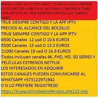 TRUE SIEMPRE CONTIGO APP IPTV
