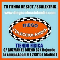TIENDA SCALEXTRIC MADRID DIEGO COLECCIOLANDIA