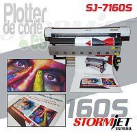 Impresora digital ecosolvente STORMJET SJ7160S