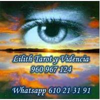 LILITH TAROT AMOR OFERTA 1RA CONSULTA 5€ 10 MIN VISA 960 967 124