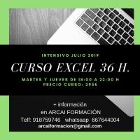 Curso intensivo Excel
