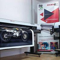 Plotter de impresion ecosolvente, impresora digital STORMJET