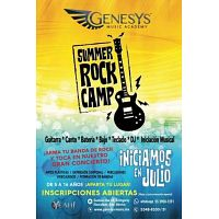 SUMMER ROCK & DJ CAMP 2019 - Genesys