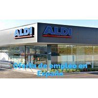 Supermercados ALDI requiere empleados en España.