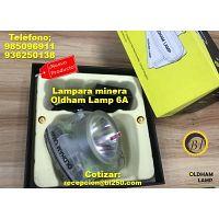 Lampara minera inalambrica oldham lamp 6A
