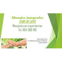 Masajes integrales Flor de Loto