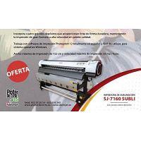 Impresora digital de sublimacion en gran formato StormJet SJ7160 OFERTA ESTE MES