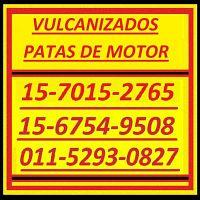Piezas Especiales 15-7015-2765 Patas Motor Vulcanizado