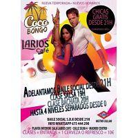 HOY TOCA COCOBONGO - ANIMAROS! FALTAN CHICAS EN LAS CLASES.......