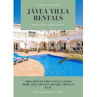 Casa Los Arcos_Villas To Rent In Javea Spain
