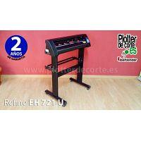 Plotter de corte profesional economico con 72 cm de ancho Refine EH721 con programa incluido