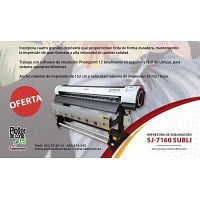 Plotter de sublimacion impresora para sublimar en gran formato