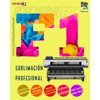 Impresora de sublimacion de gran formato StormJet F1 con cabezales Epson OFERTA