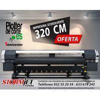 Plotter de impresion ecosolvente impresora digital gran formato StormJEt SJ320